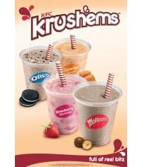 KRUSH'EMS Milkshakes