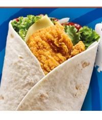 Hot Peri Peri Chicken Wrap